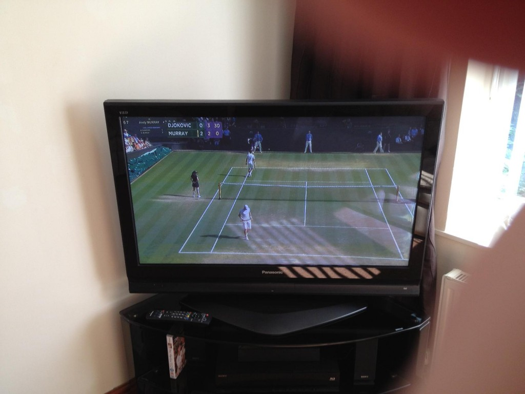 Murray winning... will he hold out ?