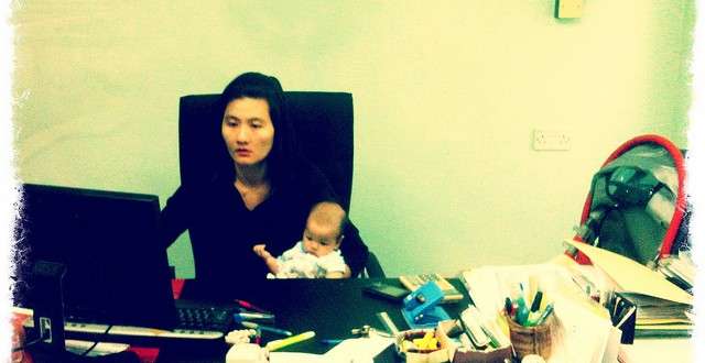 returning to work part time after a baby