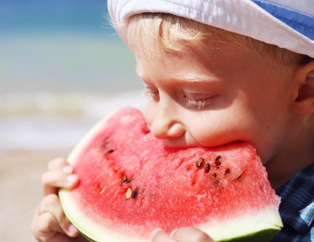 child watermelon
