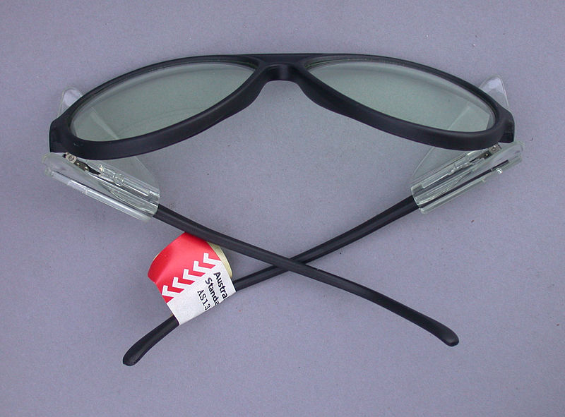 Be sure to get some good safety glasses
