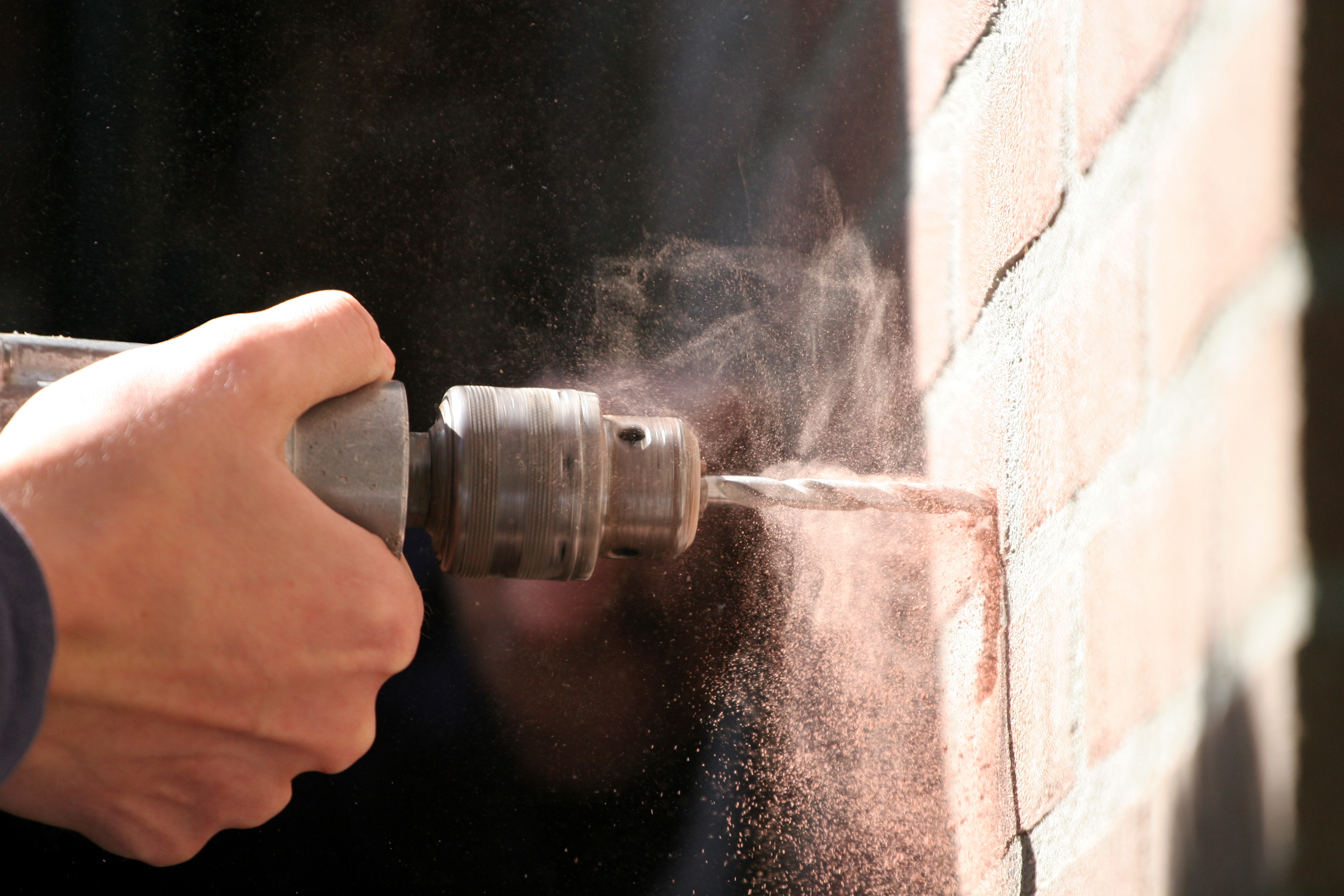 Take care when doing DIY such as drilling or nailing thing