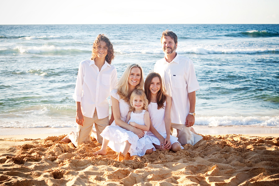 Hawaii beach photos family portrait7